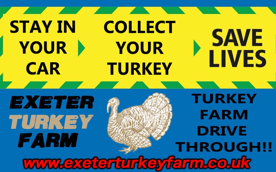 exeter turkey farm drive through